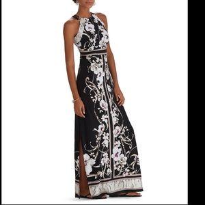White House Black Market maxi dress size small